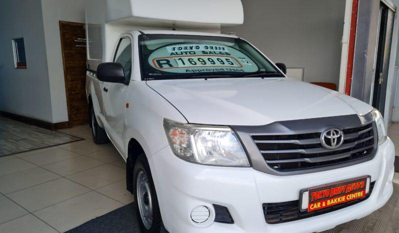 2012 TOYOTA HILUX 2.0 VVTi Single Cab full
